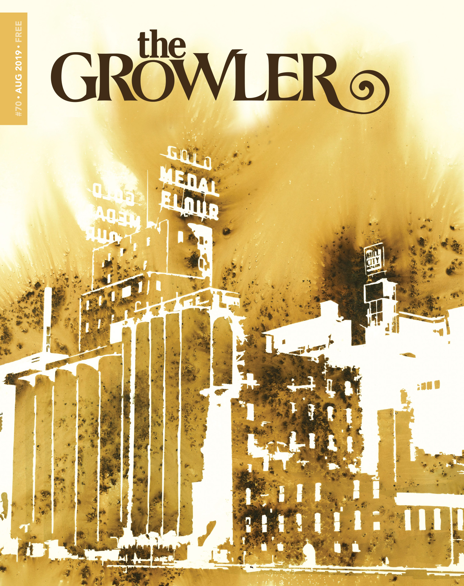 The Growler: Issue 70 – August 2019 – Fire